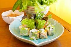 Vietnamese fresh spring roll Stock Photo