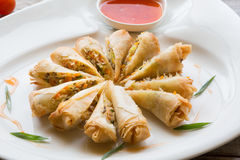 Vietnamese fried springroll Stock Image