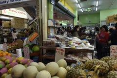 Woman fruit shop markets Royalty Free Stock Photos