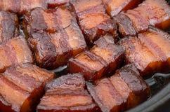 Vietnamese gekarameliseerde varkensvleesbuik Stock Afbeelding
