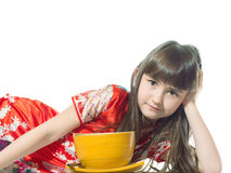 Vietnamese girl Stock Photography