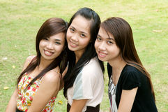 Vietnamese Girls Stock Photography