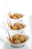Vietnamese glutinous rice balls dessert Royalty Free Stock Photo
