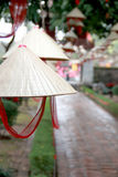 Vietnamese Hats in Hanoi Templa of Literature-2 Royalty Free Stock Photo