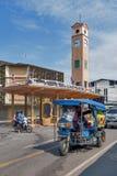 Vietnamese HerdenkingsKlokketoren, historisch die oriëntatiepunt van de Provincie van Nakhon Phanom door Vietnamese mensen in 196 Royalty-vrije Stock Fotografie