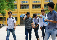 Vietnamese high school student Stock Photos
