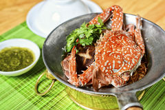 Vietnamese hot pot of sea crab Royalty Free Stock Image