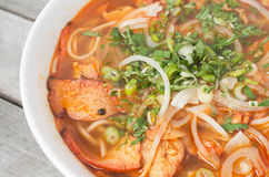 Vietnamese hot and spicy soup Royalty Free Stock Images