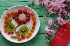 Vietnamese jam for Vietnam Tet holiday Stock Image