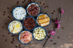 Vietnamese jams for lunar new year. Jams for lunar new year Stock Photos