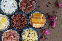 Vietnamese jams for lunar new year. Jams for lunar new year Stock Image
