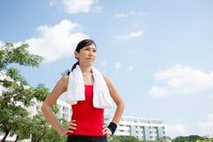 Vietnamese jogger Stock Photos