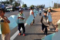 Vietnamese Kinderen Stock Fotografie