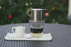 Vietnamese koffie Royalty-vrije Stock Foto