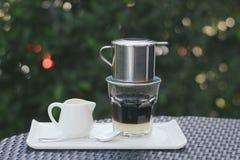 Vietnamese koffie Royalty-vrije Stock Fotografie