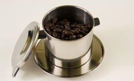 Vietnamese Koffie Royalty-vrije Stock Afbeeldingen
