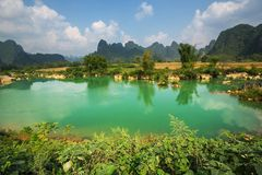 Vietnamese landscapes Royalty Free Stock Photography