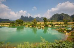 Vietnamese landscapes Royalty Free Stock Images