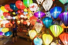 Vietnamese lantaarns stock foto