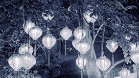 Vietnamese lantaarns royalty-vrije stock afbeeldingen