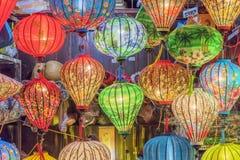 Vietnamese lanterns Stock Image