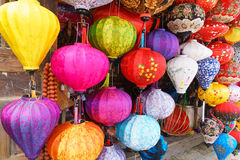 Vietnamese lanterns Royalty Free Stock Photography