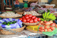 Vietnamese market. An image of vegetables in a vietnamese market stock images