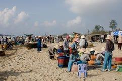 Vietnamese Market Scene Royalty Free Stock Photography