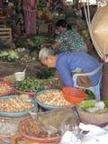 Vietnamese marktkraam Stock Afbeelding