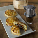 Vietnamese meat pies Stock Photography