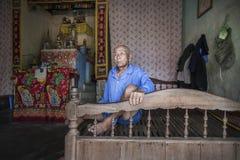 Vietnamese mens Royalty-vrije Stock Afbeeldingen
