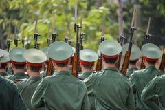 Vietnamese militairen Stock Afbeeldingen