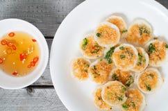 Vietnamese mini rice pan cakes Royalty Free Stock Image