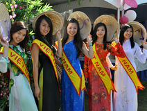 Vietnamese Models Royalty Free Stock Photography