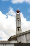 Vietnamese national red star, Da Lat, Vietnam Royalty Free Stock Image