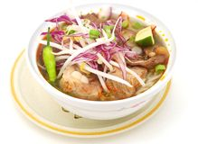 Vietnamese noodle plate Stock Photography