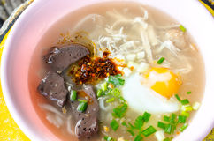 Vietnamese noodle with soup Royalty Free Stock Photography