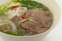 Vietnamese noodle soup Royalty Free Stock Image