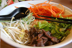 Vietnamese noodles Royalty Free Stock Photography
