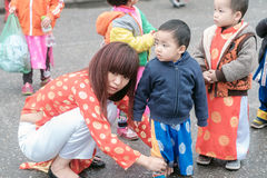 Vietnamese nursery school Royalty Free Stock Photography