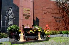 Vietnamese offering and altar to dead at Hoa Lo Hanoi Hilton prison Hanoi Hilton Vietnam Royalty Free Stock Images