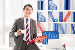 Vietnamese office worker Stock Photos