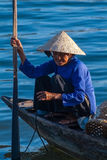 Vietnamese old woman Stock Photo