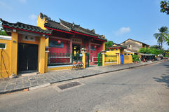 Vietnamese padoga in Hoi An Stock Image