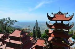 Vietnamese pagode Royalty-vrije Stock Afbeelding