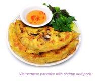 Vietnamese pannekoek royalty-vrije stock foto