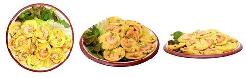 Vietnamese pannekoek stock foto