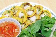 Vietnamese pannekoeken royalty-vrije stock fotografie