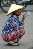 Vietnamese People, Vietnam Travel, Smoking Stock Photo