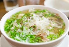 Vietnamese Pho noodle Stock Images